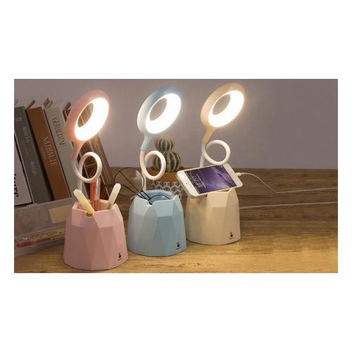 LED-Schreibtischlampe: Pink / 1