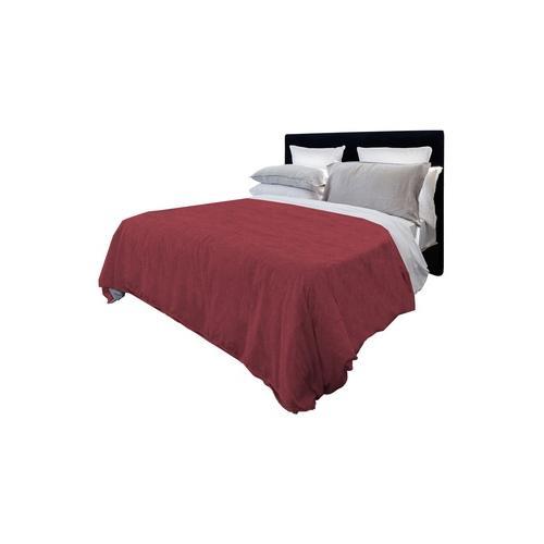 Tagesdecke aus Baumwolle: Rot / 260 x 270 cm
