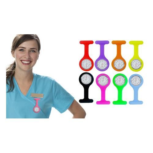 Krankenschwester-Silikon-Uhr: Lila/ 1
