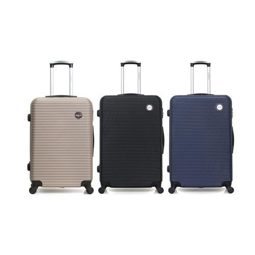 Reisekoffer London: Handgepäck-Koffer/ Schwarz