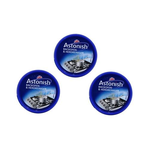 3x Astonish Herd- und Backofenreiniger je 400 g (250 ml)