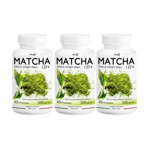 Lineadiet Matcha-Tabletten: 120 Tabletten