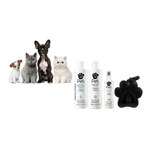 John Paul Pet: Beruhigendes Shampoo + Kotbeutel-Spender