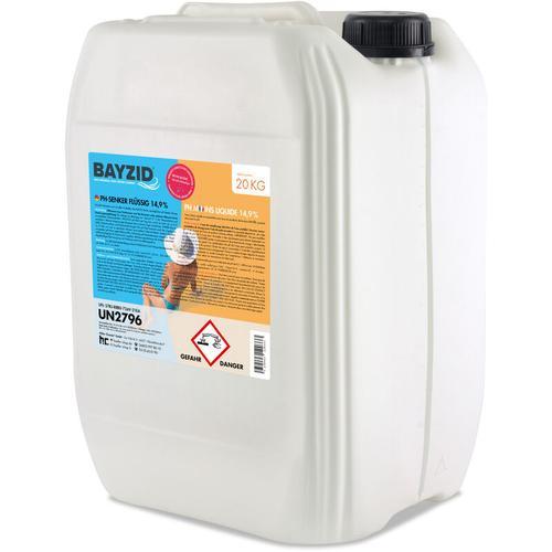 Höfer Chemie - 2 x 20 kg BAYZID® pH Minus flüssig 14,9%