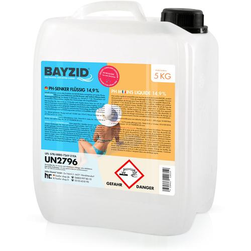 Höfer Chemie - 1 x 5 kg BAYZID® pH Minus flüssig 14,9%
