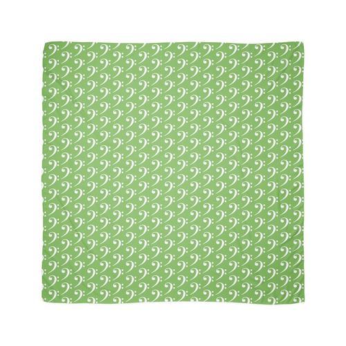 Bassschlüssel - Grün Tuch