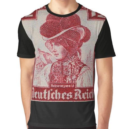 Schwarzwald Trachten ... Schwarzwälder Tracht Grafik T-Shirt
