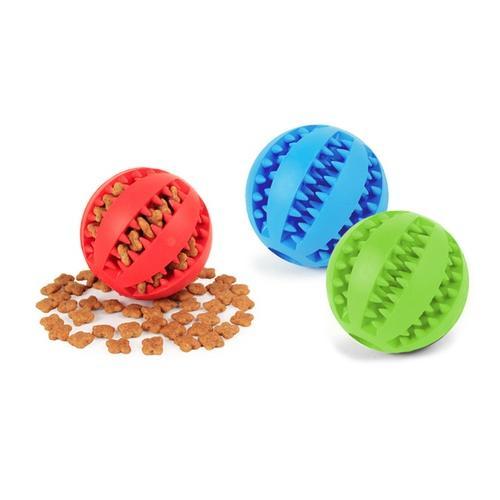 Spielball für Hunde: Blau/Gr. S