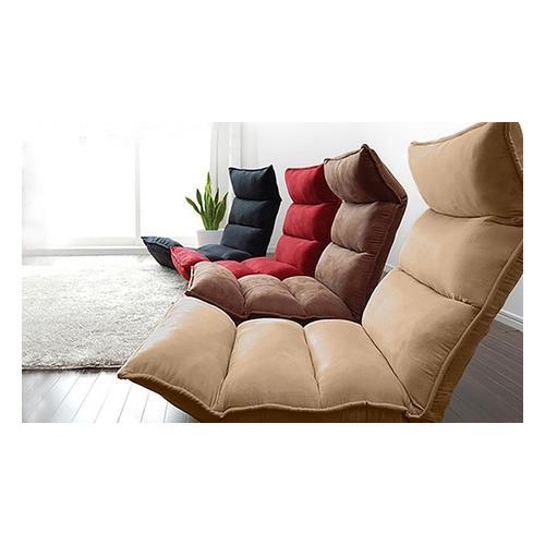 Faltbares Sofa: Modell 2 / Rot
