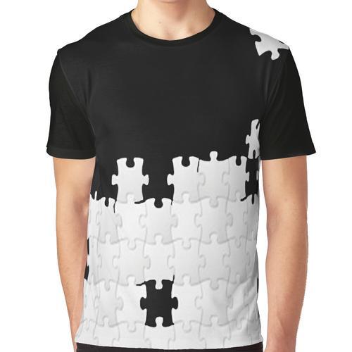 GERADE EIN PUZZLESPIEL Grafik T-Shirt