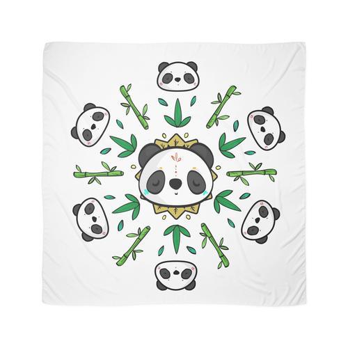 Pandala - Mandala Panda Tuch
