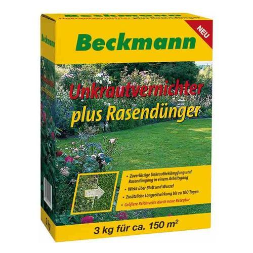 3 kg Rasendünger mit Unkrautvernichter + Langzeitwirkung f. ca 150m²