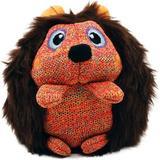 KONG ZigWigz Hedgehog Squeaky Plush Dog Toy, Medium