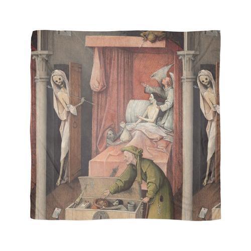 Hieronymus Bosch - Hieronymus Bosch - Tod und der Geizhals. 1485 Tuch