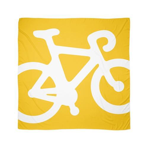 Gelbes Fahrrad Tuch