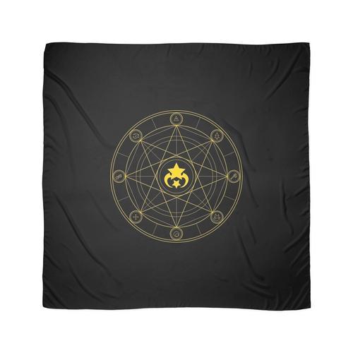 Goldener Kreis Tuch