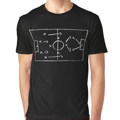 Fußball (Taktik) - Taktikzeit Grafik T-Shirt