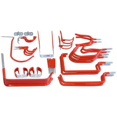 Connex Schraubhaken Universalhalter rot Zubehör Werkzeug Maschinen