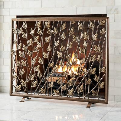 Haven Fireplace Screen - Frontgate