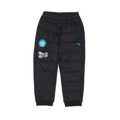 Kids Snow Pants - Elastic: Black Sporting & Activewear - Size 110
