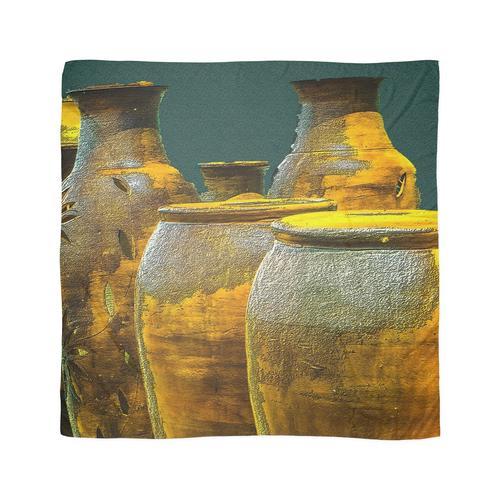 Töpfe aus Gold Tuch