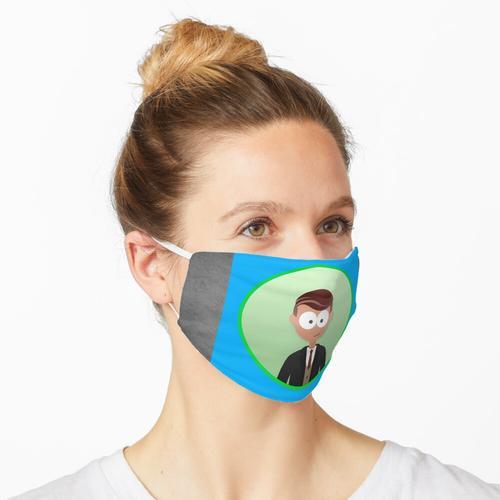 Der Mann im Anzug Maske