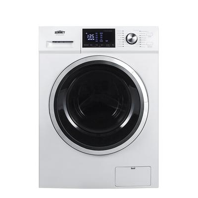 Summit SPWD2202W 2.7 cu ft Front Load Washer/Dryer Combo w/ Glass Door - White, 115v