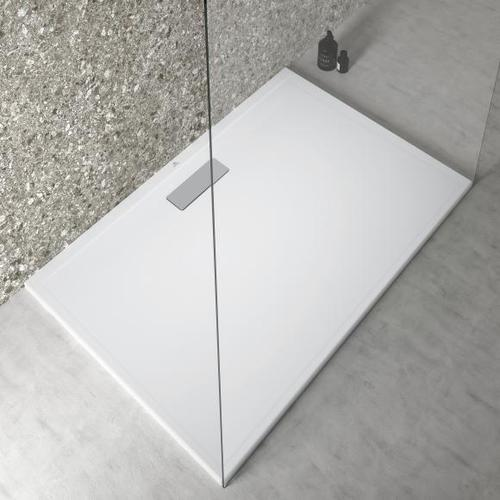 Ideal Standard Ultra Flat New Rechteck-Duschwanne L: 120 B: 80 H: 2,5 cm seidenweiß T4469V1