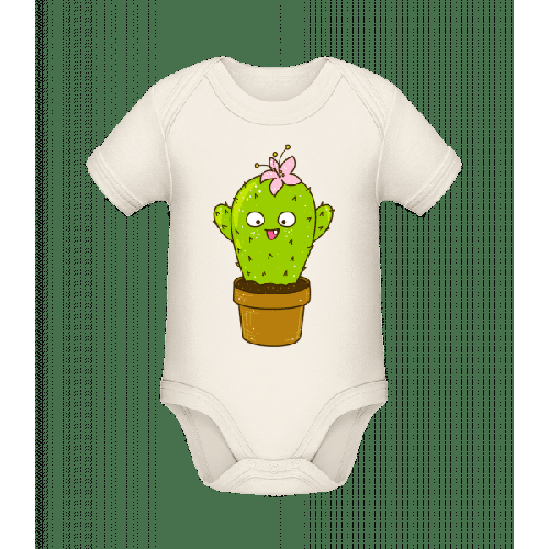 Lustiger Kaktus - Baby Bio Strampler
