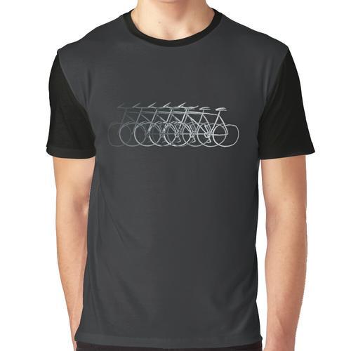 Einfach Fahrrad fahren Grafik T-Shirt