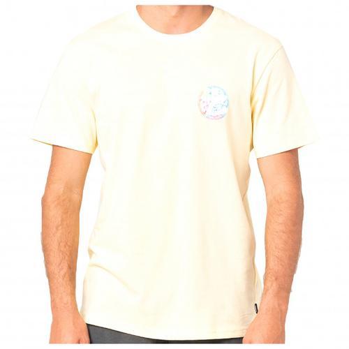 Rip Curl - Wetty Party S/S Tee - T-Shirt Gr XXL weiß/beige