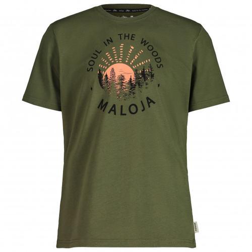 Maloja - HeckenkirscheM. - T-Shirt Gr M oliv