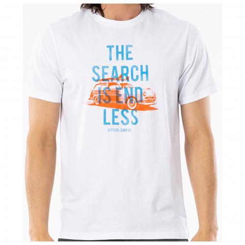 Rip Curl - Endless Search Tee - T-Shirt Gr L weiß/beige