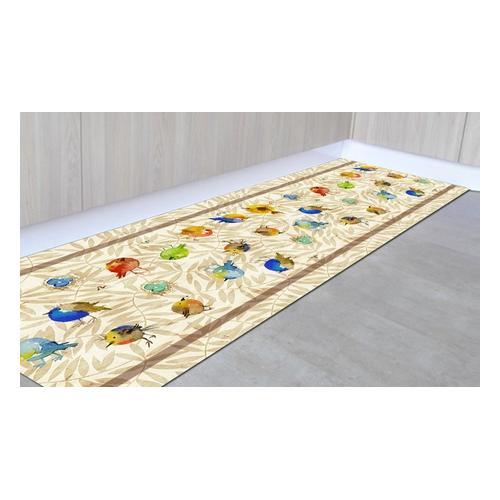 Läufer-Teppich: Pflanzen/ 50 x 200 cm