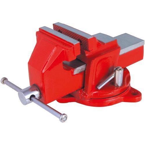 Connex Schraubstock, 100 mm, drehbar rot Schraubstöcke Werkzeug Maschinen Schraubstock