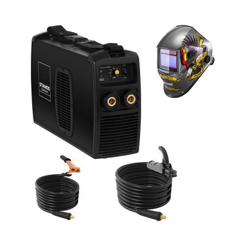 Stamos Pro Series Schweißset Elektroden Schweißgerät - 250 A - 230 V IGBT + Schweißhelm – Eagle Eye
