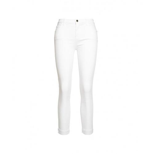 Kaos Damen Jeans Weiß