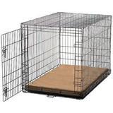 Gorilla Dog Beds Dura-Vel Orthopedic Dog Crate Pad, Coyote, Large