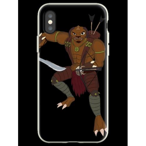 Bogenschütze der Gorgonit Flexible Hülle für iPhone XS