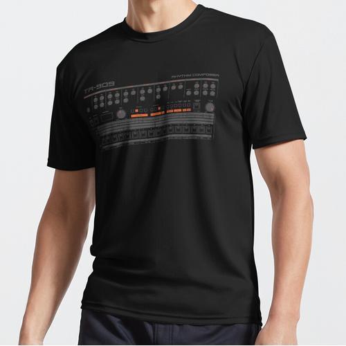 TR 909 Trommelmaschine Funktionsshirt