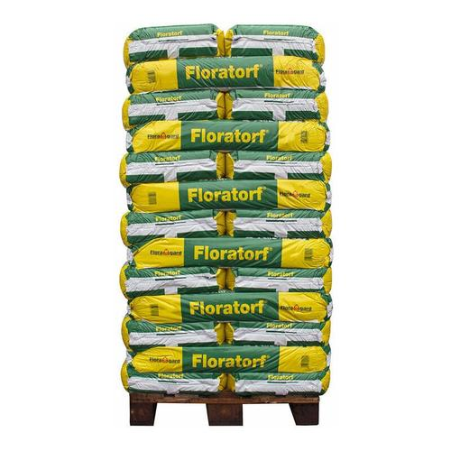 Floragard Floratorf naturrein, 36 Sack je 100 l, Gesamt 3600 l