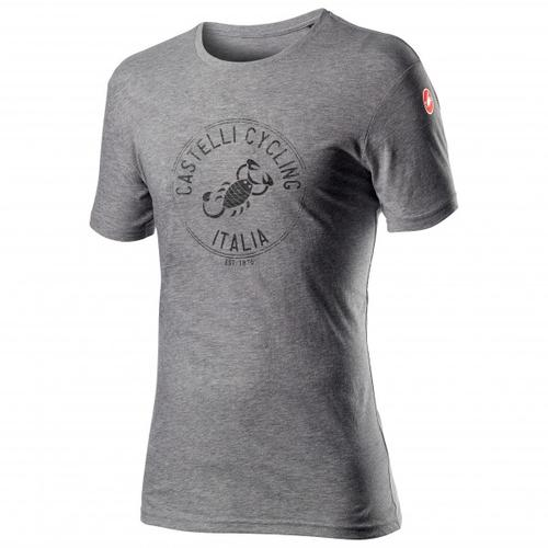 Castelli - Armando T-Shirt Gr S grau