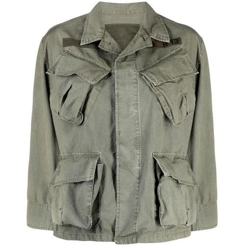 R13 Jacke mit verdecktem Verschluss