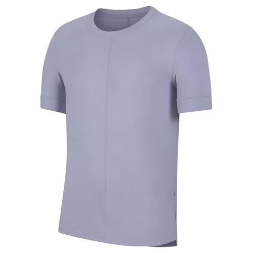 """Nike Herren Yoga T-Shirt """"Nike Yoga Dri-Fit"""", lila, Gr. XL"""