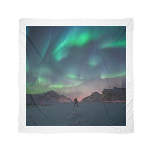 Nordlicht Tuch