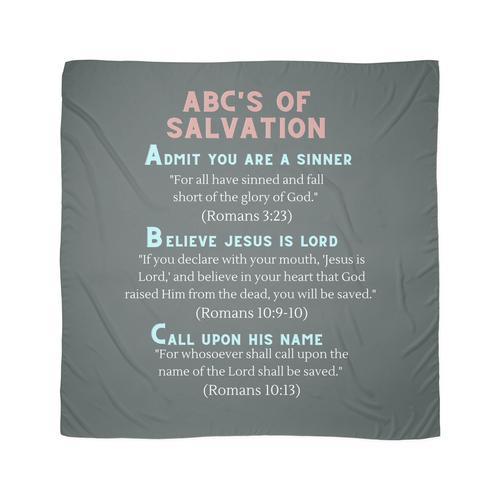 ABC der Erlösung Tuch