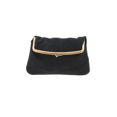 Assorted Brands Clutch: Black Solid Bags