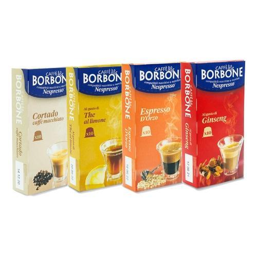Caffè Borbone: Kaffeekapseln mit Ginseng-Geschmack / 60 Kapseln