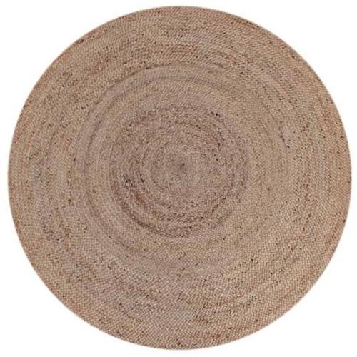 Teppich Jute Rund 180 cm Natur - Label51