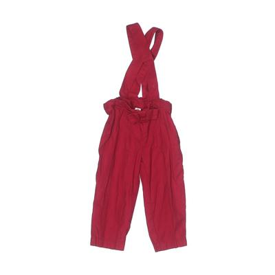 Just One You Made by Carters Jumpsuit: Red Solid Skirts & Jumpsuits - Size 18 Month